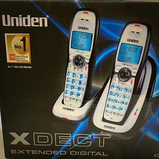 Uniden Xdect 7015 + 1 Digital Cordless Phone