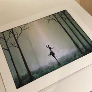 Fae Factory Painting of a Ballerina