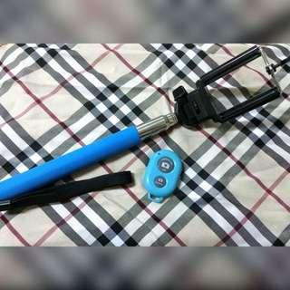 自拍神器/藍芽自拍搖控器