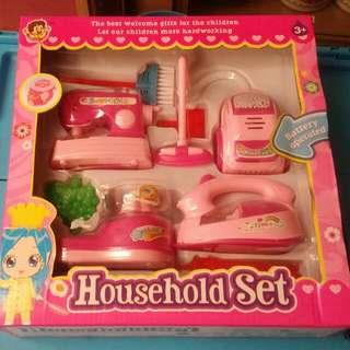 家家酒廚房玩具-仿真4款裝電動迷你小家電玩具套裝組/仿真廚房家電玩具/迷你廚房廚具玩具