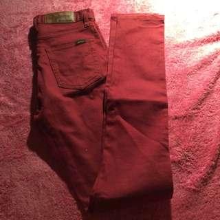 Burnt Orange Jeans Size 7 dejour