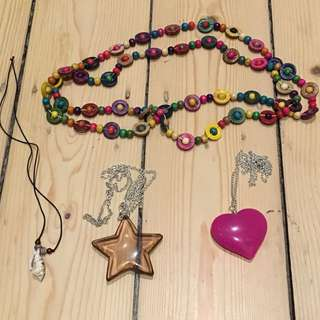 Assorted Necklaces (SOME SOLD)