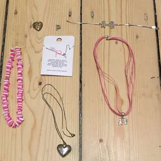Necklaces And Charms (SOME SOLD)