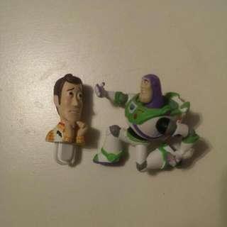 玩具總動員 胡迪和巴斯光年 轉蛋/扭蛋