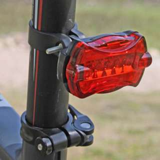 5LED Rear Bicycle Light