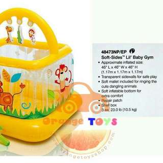 intex inflatable baby gym