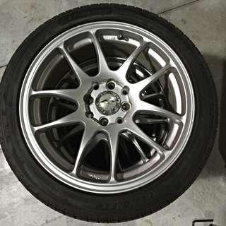DATA 16吋鋁圈+輪胎