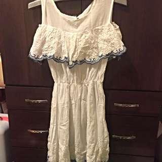白色洋裝(可換)
