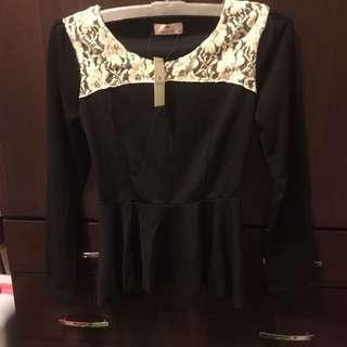 長袖可愛造型上衣(可換)