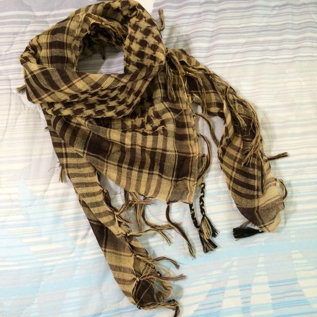 🌟格紋圍巾 可換物