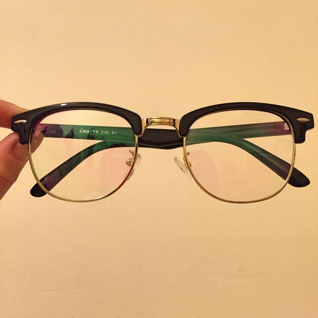 造型眼鏡(可配近視眼鏡)