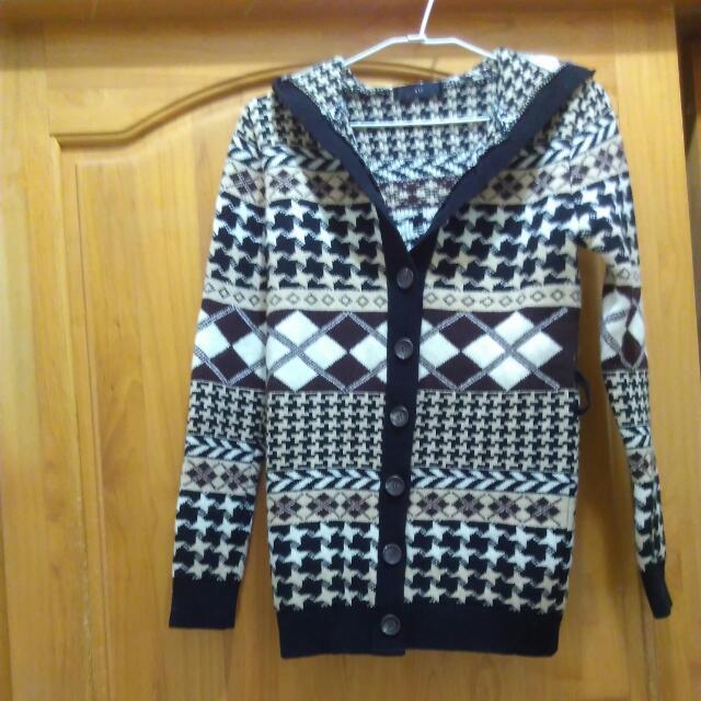 冬季針織外套