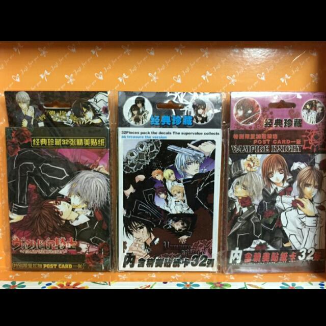 吸血鬼騎士 精美貼紙