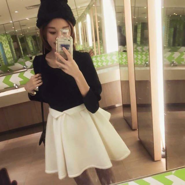 正韓 黑白洋裝