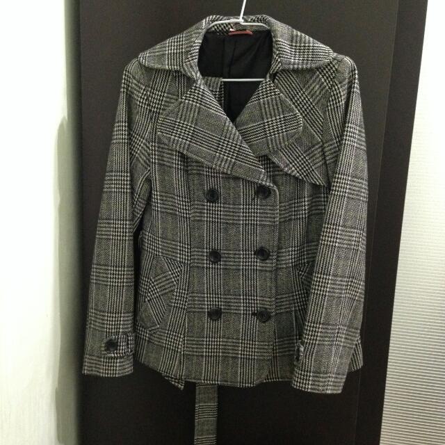 二手 | 氣質英倫風大衣外套