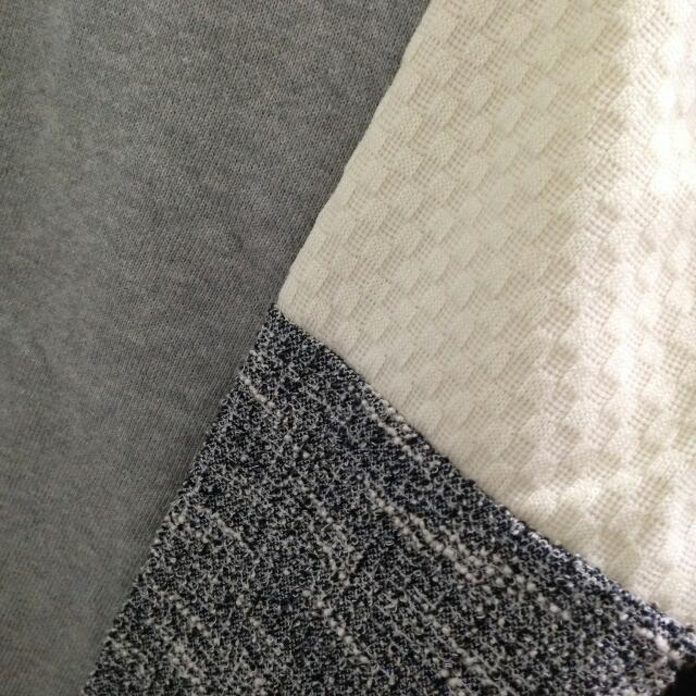 二手 | 韓風拼接長袖上衣