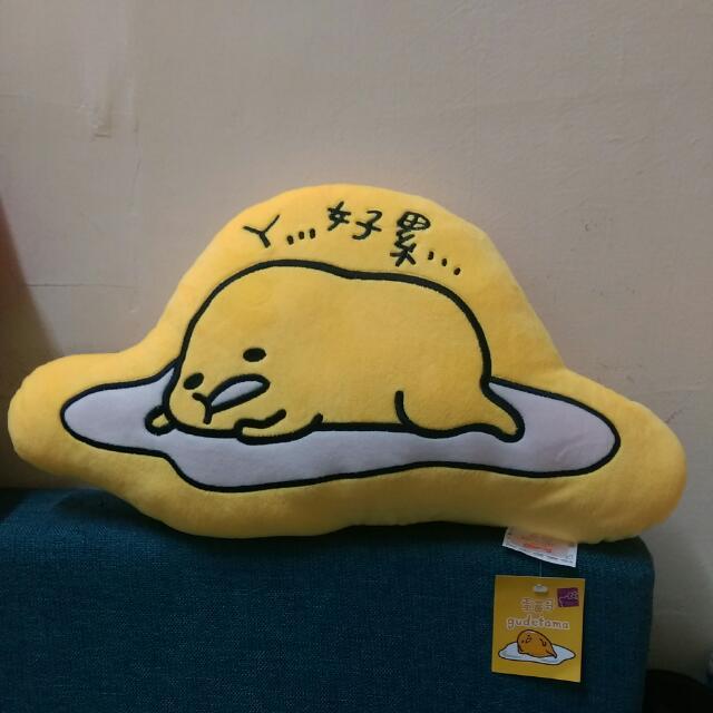 超級可愛 蛋黃哥 好累