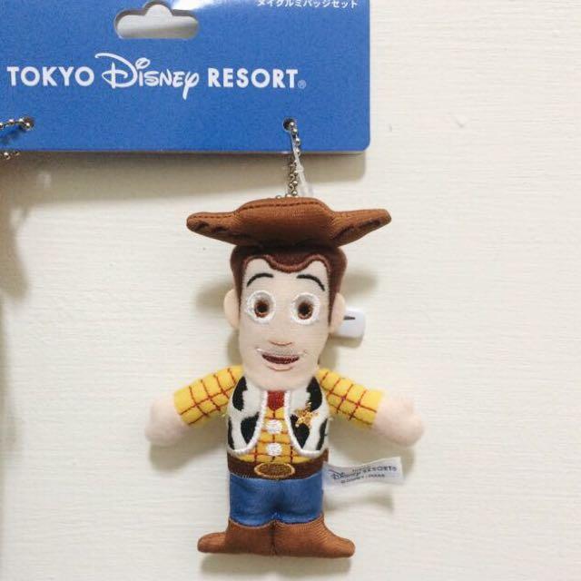 日本現貨🇯🇵玩具總動員 胡迪 Woody 吊飾 日本迪士尼