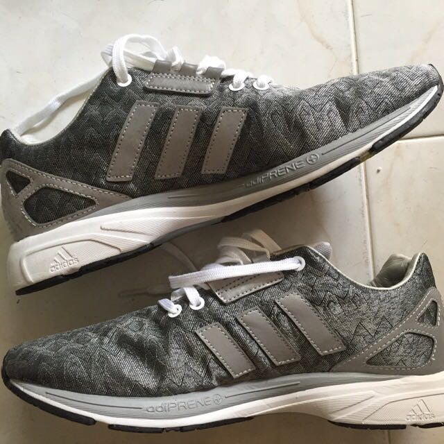 61a2efb1009a0 Adidas ZX Flux Nordic (Silver white)