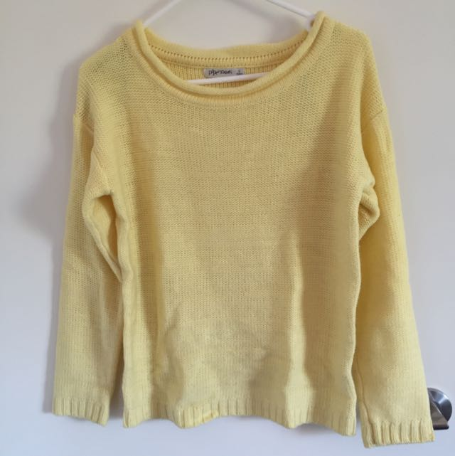 Baby Yellow Sweater Size S