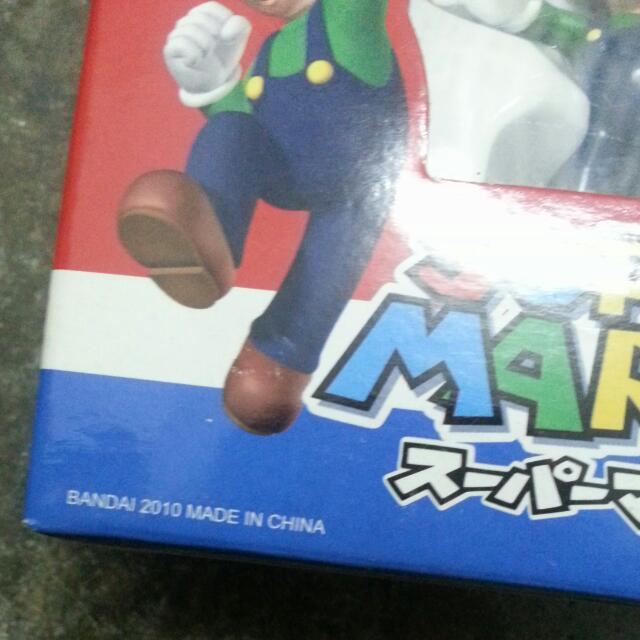 BNIB Mario Bros Figurines