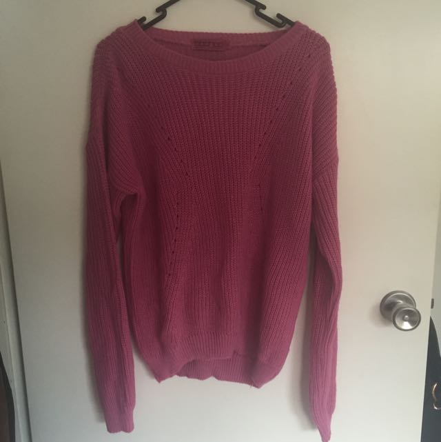Boohoo knitted jumper