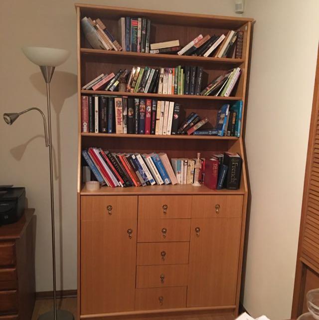 Price Drop-Bookshelf With Drawers