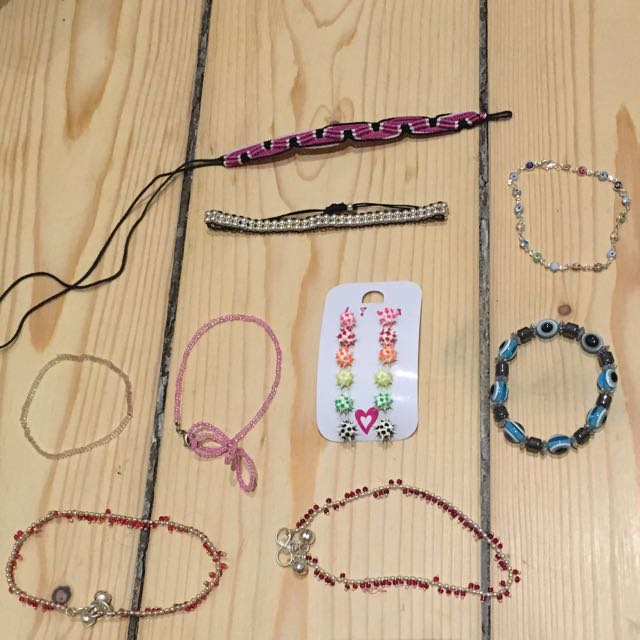 Bracelets And Earnings (SOME SOLD)