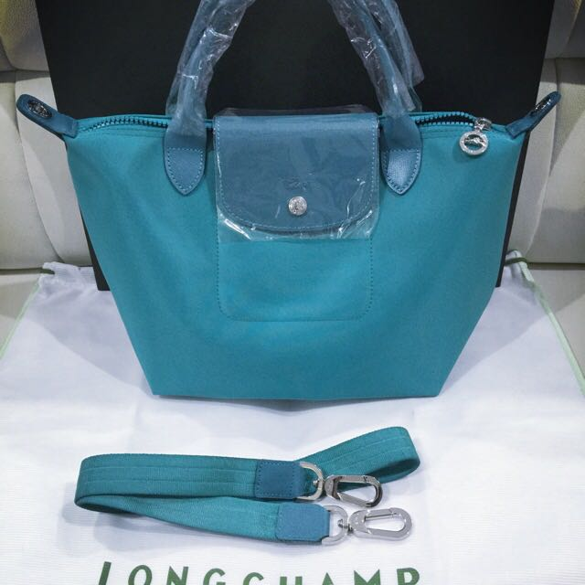 dd3070c5ae69 Brand New And Authentic Longchamp Le Pliage Neo Turquoise Color ...