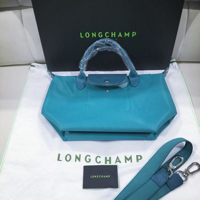 a1866d2cc99f Brand New And Authentic Longchamp Le Pliage Neo Turquoise Color Small Size