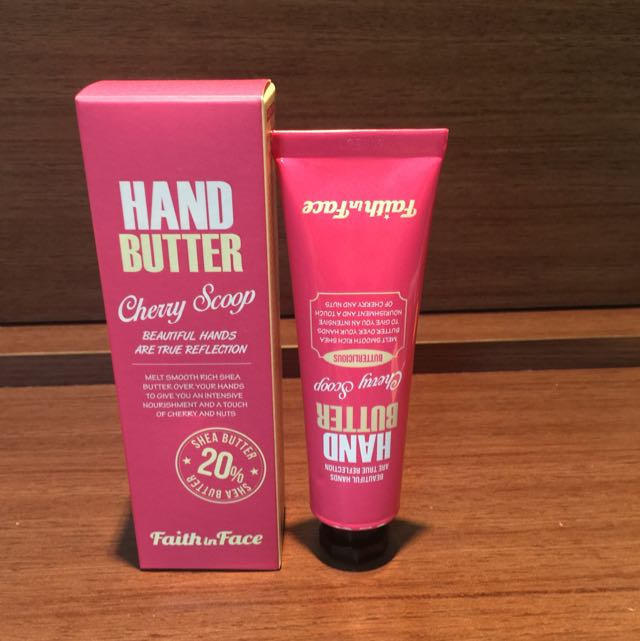 FAITH IN FACE HAND BUTTER-CHERRY SCOOP 護手霜