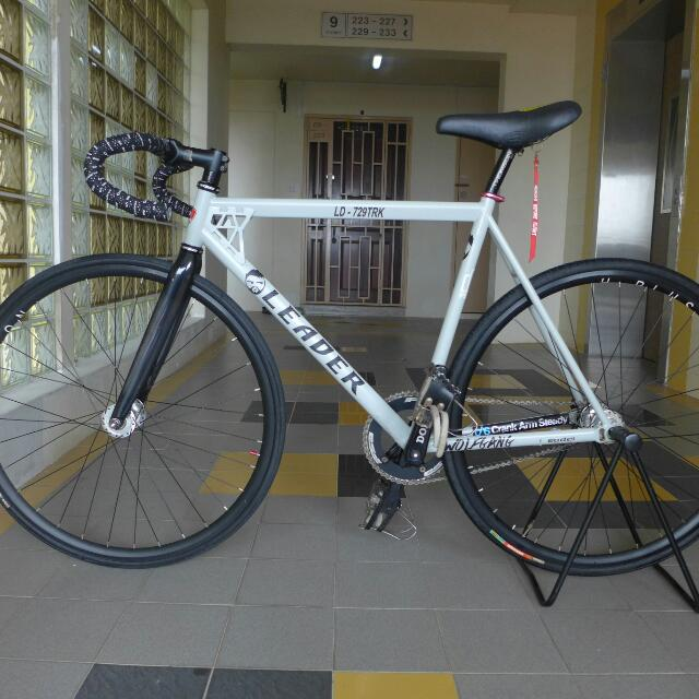 Fixed Gear Bike Leader 729 Trk Trick Star Sports Bicycles On