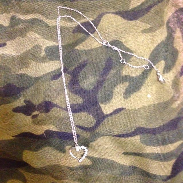 💋Forever21 碎鑽心型項鍊