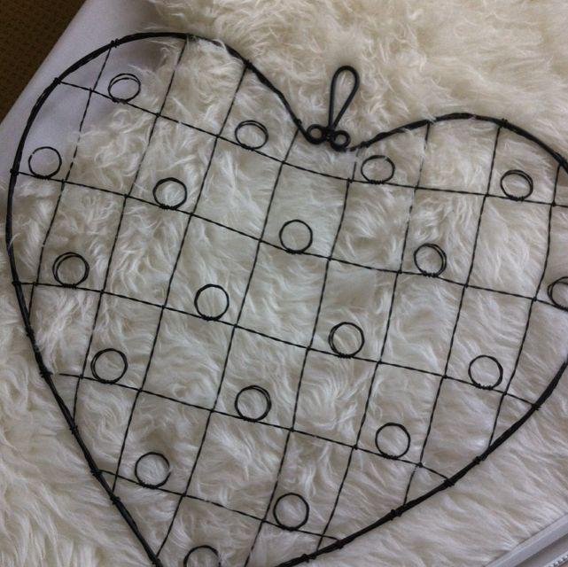 Heart shaped Photo Holder