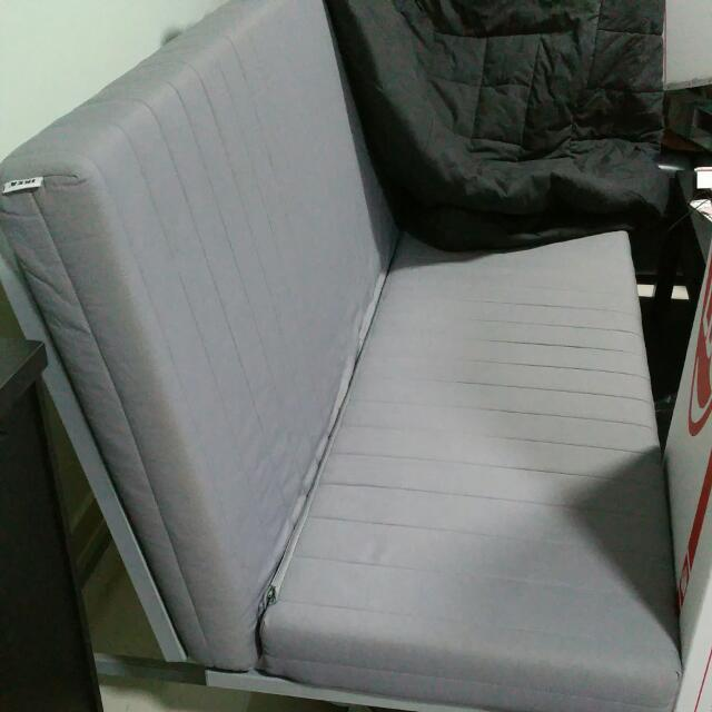 Ikea Sofabed + 2 Covers