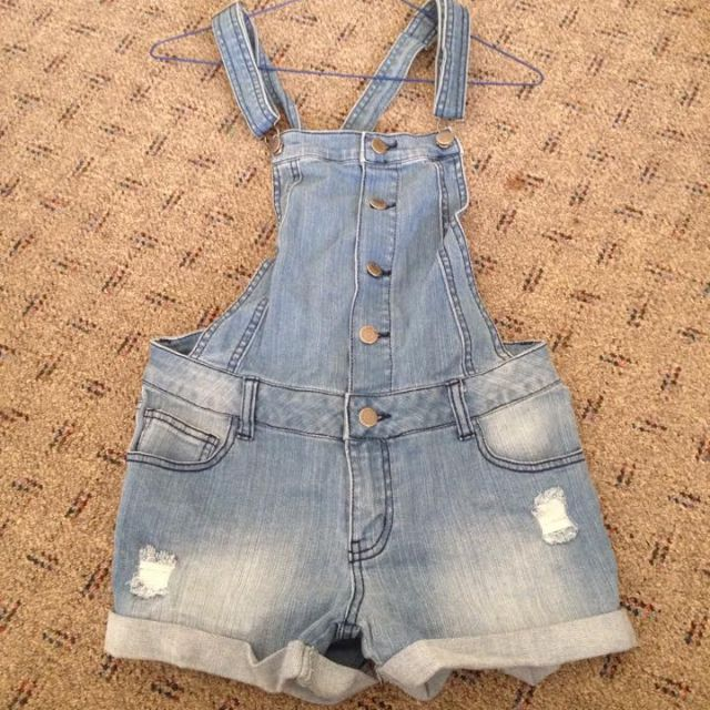 jayjays denim shorts overalls