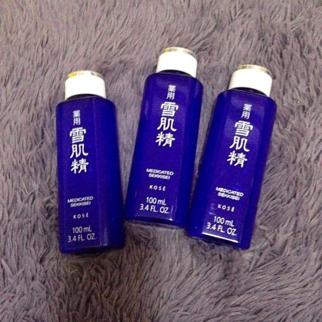 KOSE雪肌精化妝水/美白美容液/專櫃100ml/300ml