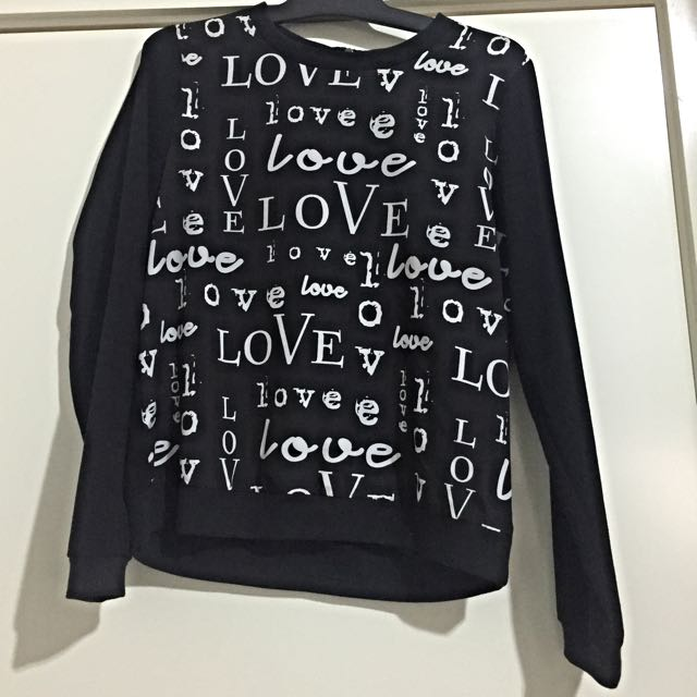 L.O.V.E (sweater Top)