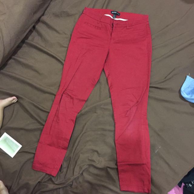 Mango Ankle Length Pants