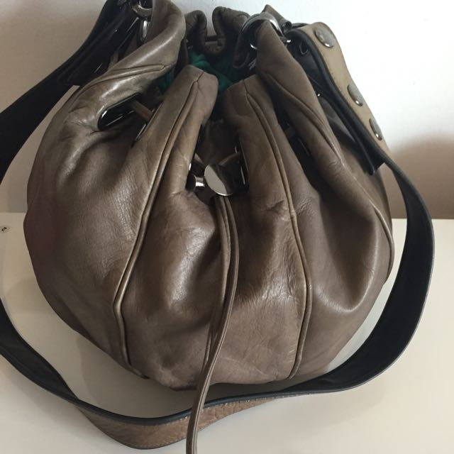 MIMCO Leather Small Sash Cocoon Bag