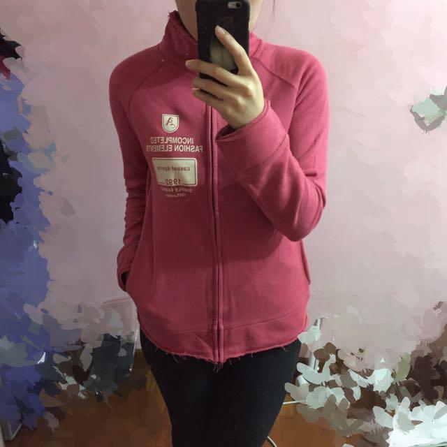NET 粉紅色 運動 夾克上衣