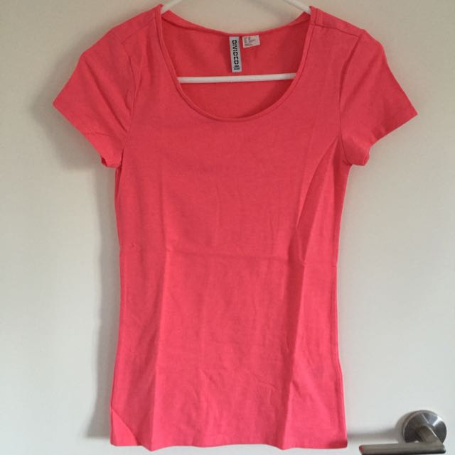 Orange Pink T-shirt Size XS