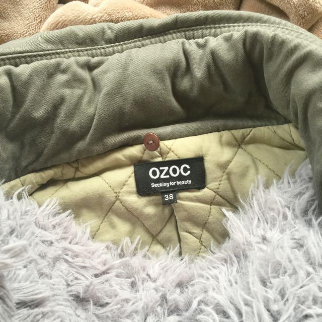 OZOC雙層時尚外套 二手