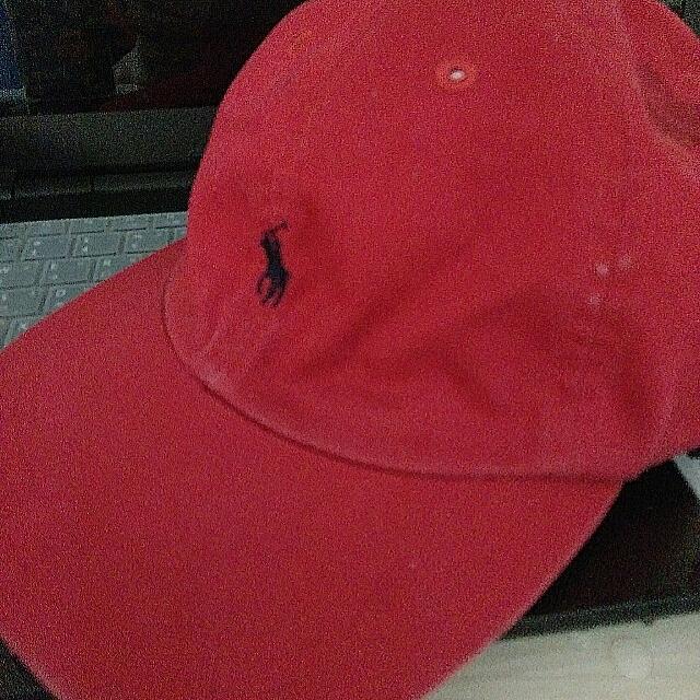 正版POLO帆布帽子