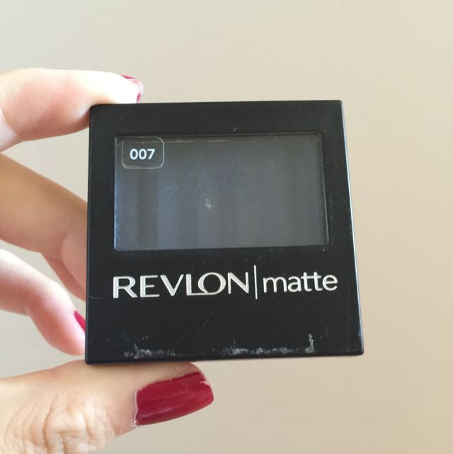 Revlon Matte Eyeshadow in Riviera Blue (007)