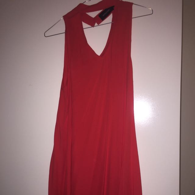 Red Mink Pink Dress Size 8
