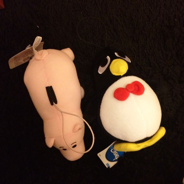 SEGA日本景品 玩具總動員 火腿豬 ㄓㄓ 吊飾玩偶