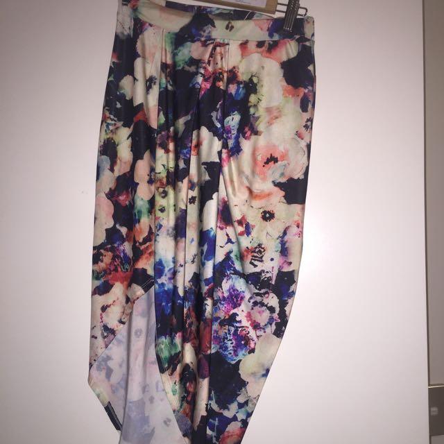 Sheike Print Skirt Size 10