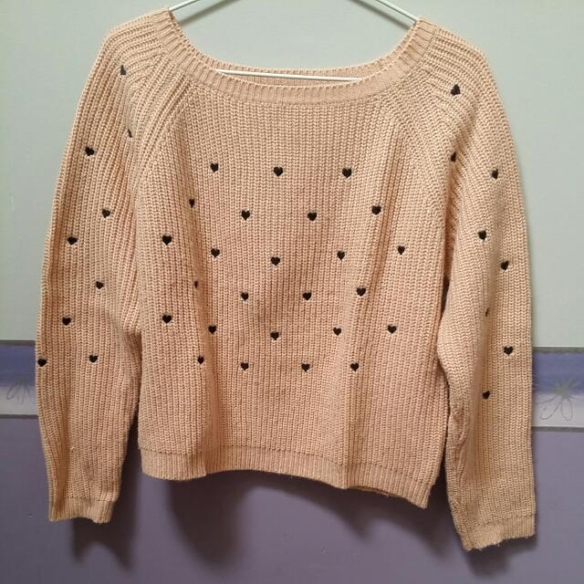 Size S-M Knit Jumper