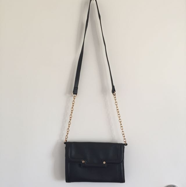 Sports Girl Gold Chain Bag